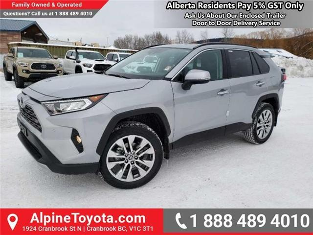 2019 Toyota RAV4 Limited (Stk: W019264) in Cranbrook - Image 1 of 18