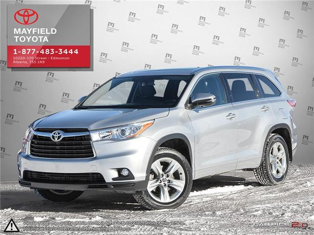 2016 Toyota Highlander Limited (Stk: 180772B) in Edmonton - Image 1 of 20