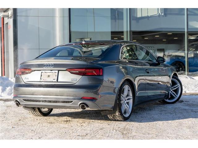 2018 Audi A5 2.0T Technik (Stk: N4751) in Calgary - Image 7 of 18