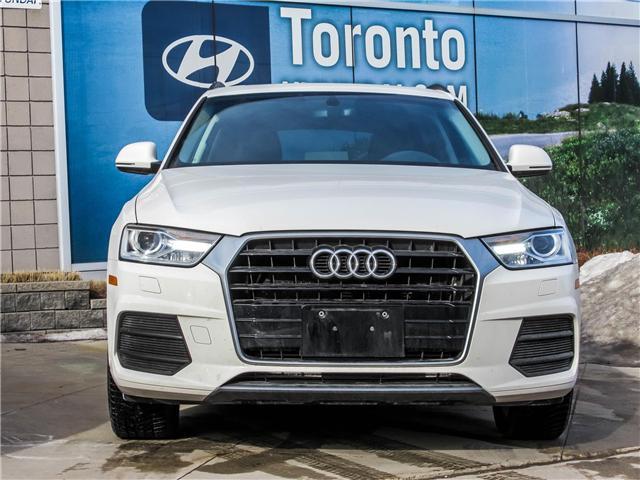 2017 Audi Q3 2.0T Komfort (Stk: GU0040) in Toronto - Image 2 of 9