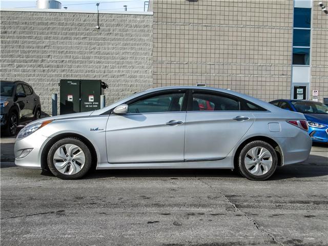 2013 Hyundai Sonata Hybrid  (Stk: U06330) in Toronto - Image 2 of 7