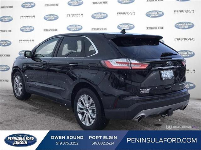 2019 Ford Edge Titanium (Stk: 19ED02) in Owen Sound - Image 4 of 24