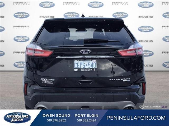 2019 Ford Edge Titanium (Stk: 19ED02) in Owen Sound - Image 5 of 24