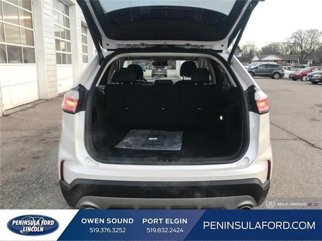 2019 Ford Edge SEL (Stk: 19ED06) in Owen Sound - Image 11 of 24