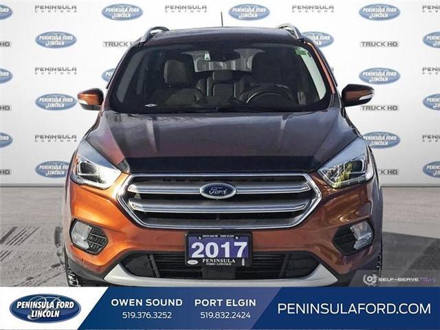 2017 Ford Escape Titanium (Stk: 18ES195A) in Owen Sound - Image 2 of 24