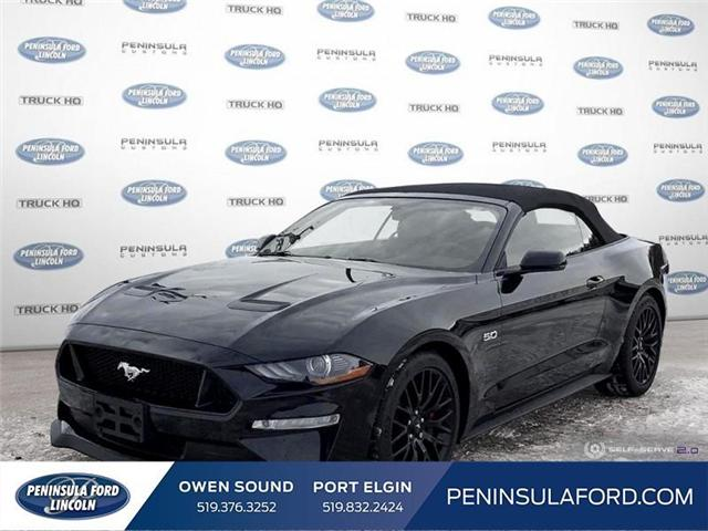 2018 Ford Mustang GT Premium (Stk: 1675) in Owen Sound - Image 1 of 25