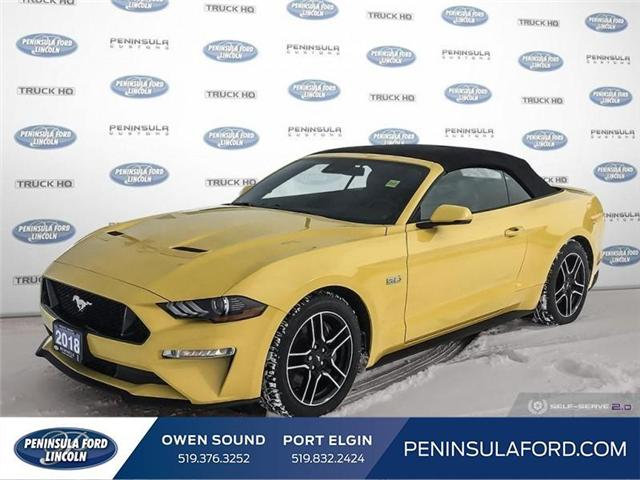 2018 Ford Mustang GT Premium (Stk: 1677) in Owen Sound - Image 1 of 23