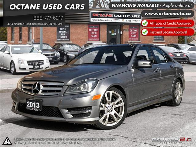 2013 Mercedes-Benz C-Class Base (Stk: ) in Scarborough - Image 1 of 23