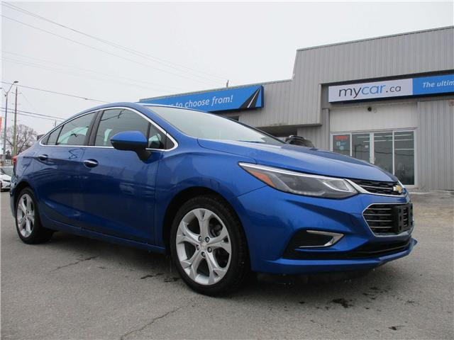 2017 Chevrolet Cruze Premier Auto (Stk: 190196) in Kingston - Image 1 of 12