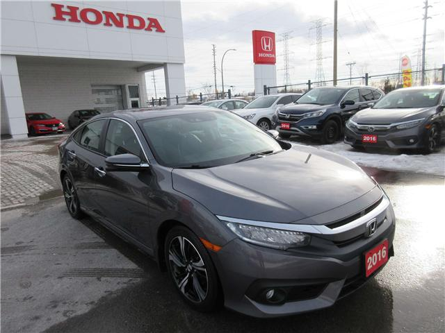 2016 Honda Civic Touring (Stk: 26553L) in Ottawa - Image 2 of 11