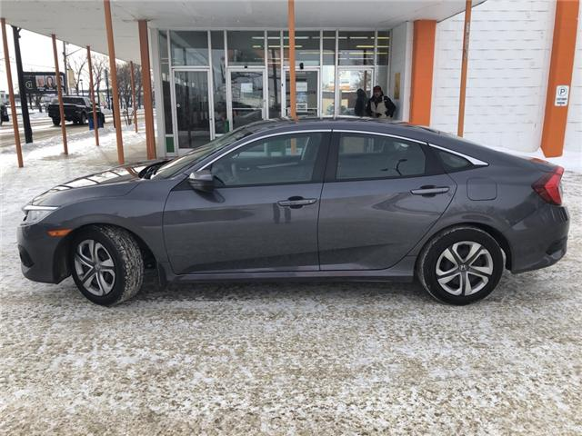 2016 Honda Civic LX (Stk: F390) in Saskatoon - Image 2 of 7