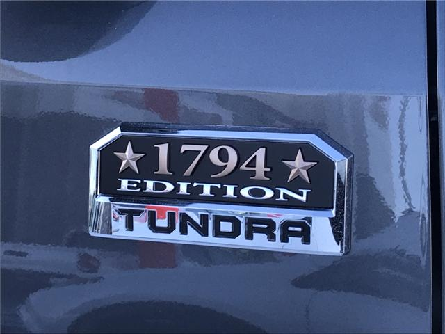 2019 Toyota Tundra 1794 Edition Package (Stk: 190165) in Cochrane - Image 8 of 21