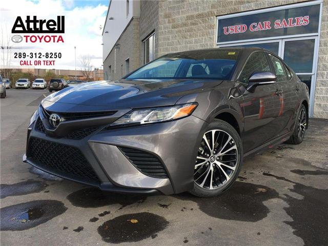 2019 Toyota Camry SE UPGRADE PACKAGE (Stk: 43655) in Brampton - Image 1 of 12
