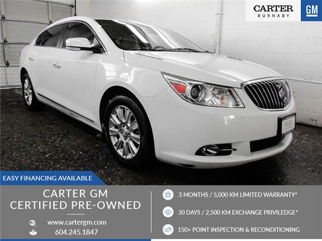 2013 Buick LaCrosse eAssist Luxury Group (Stk: I8-58481) in Burnaby - Image 1 of 24