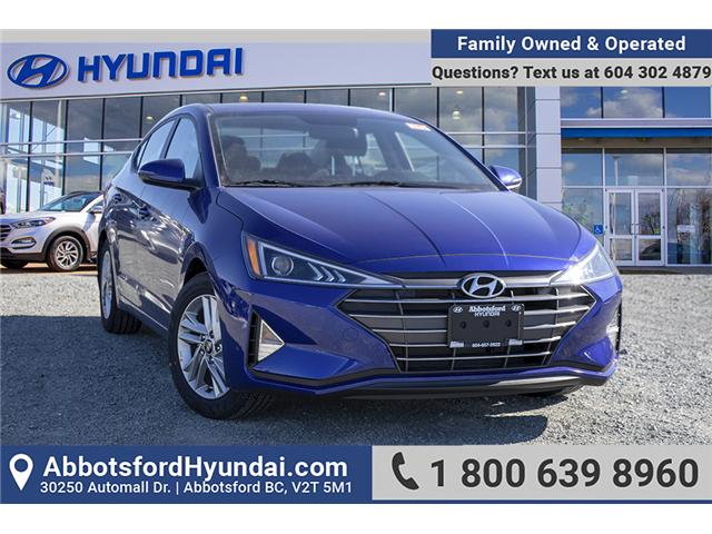 2019 Hyundai Elantra Preferred (Stk: KE860855) in Abbotsford - Image 1 of 24