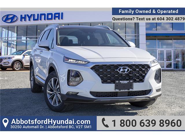 2019 Hyundai Santa Fe Luxury (Stk: KF071841) in Abbotsford - Image 1 of 26