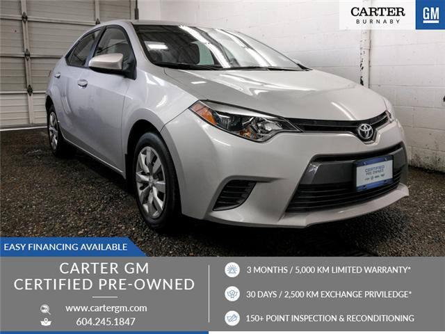 2016 Toyota Corolla CE (Stk: T6-38541) in Burnaby - Image 1 of 25