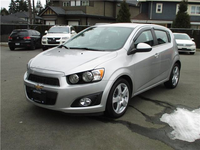 2015 Chevrolet Sonic LT Auto (Stk: KG904083A) in Surrey - Image 1 of 24