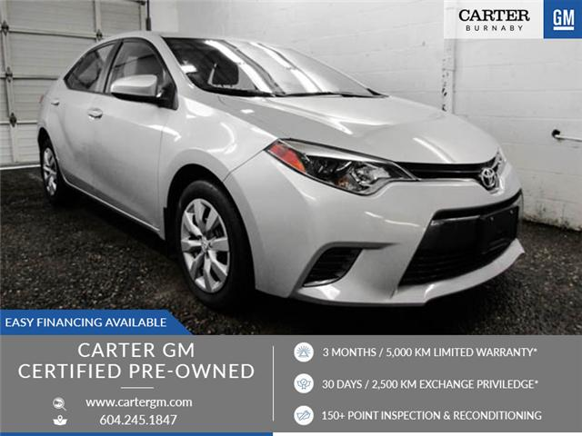 2016 Toyota Corolla CE (Stk: T6-07821) in Burnaby - Image 1 of 24
