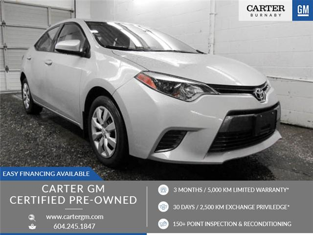 2016 Toyota Corolla CE (Stk: T6-93441) in Burnaby - Image 1 of 23