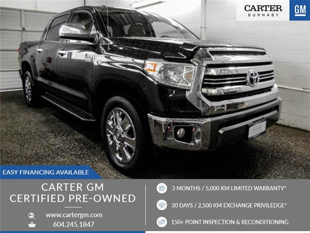 2016 Toyota Tundra Platinum 5.7L V8 (Stk: P9-54051) in Burnaby - Image 1 of 25