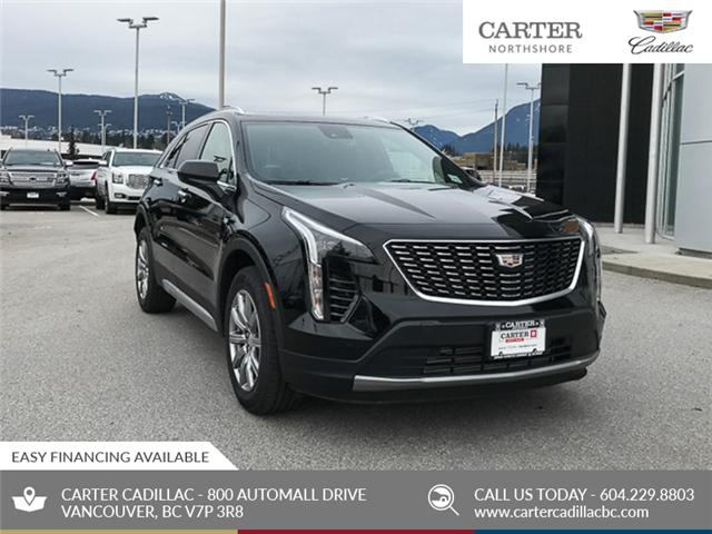 2019 Cadillac XT4 Premium Luxury (Stk: 9D30220) in North Vancouver - Image 1 of 24
