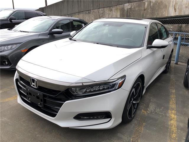 2019 Honda Accord Sport 1.5T (Stk: 6K16500) in Vancouver - Image 1 of 4