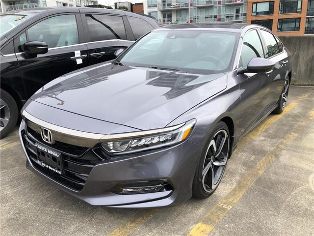 2019 Honda Accord Sport 2.0T (Stk: 6K04860) in Vancouver - Image 1 of 4