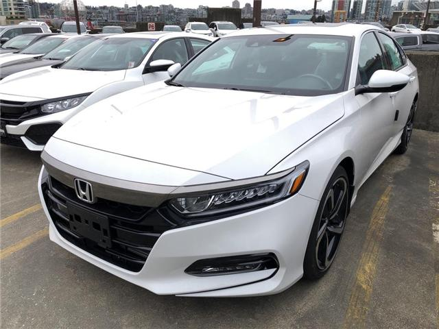 2019 Honda Accord Sport 2.0T (Stk: 6K08410) in Vancouver - Image 1 of 4