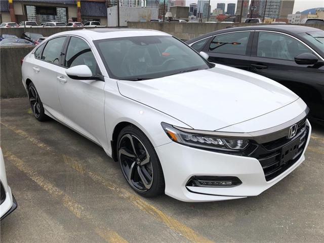 2019 Honda Accord Sport 2.0T (Stk: 6K08410) in Vancouver - Image 3 of 4