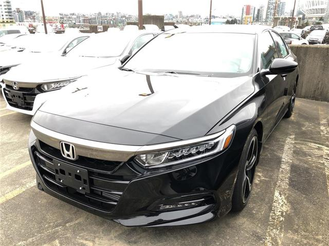 2019 Honda Accord Sport 1.5T (Stk: 6K14600) in Vancouver - Image 1 of 4
