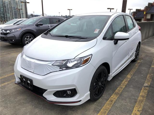 2019 Honda Fit Sport (Stk: FK21320) in Vancouver - Image 1 of 4