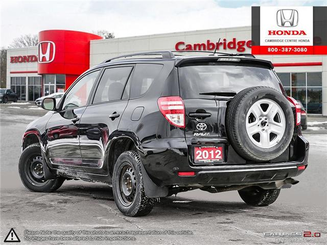 2012 Toyota RAV4 Base (Stk: 19402A) in Cambridge - Image 4 of 27
