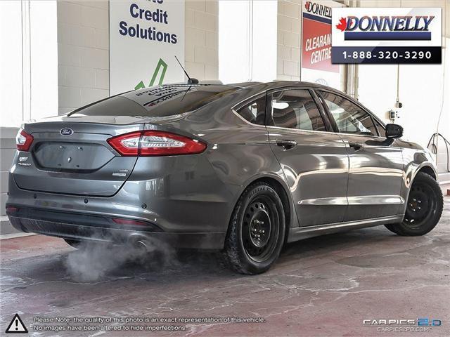 2013 Ford Fusion SE (Stk: CLDUR5950A) in Ottawa - Image 4 of 30