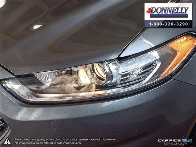 2013 Ford Fusion SE (Stk: CLDUR5950A) in Ottawa - Image 10 of 30