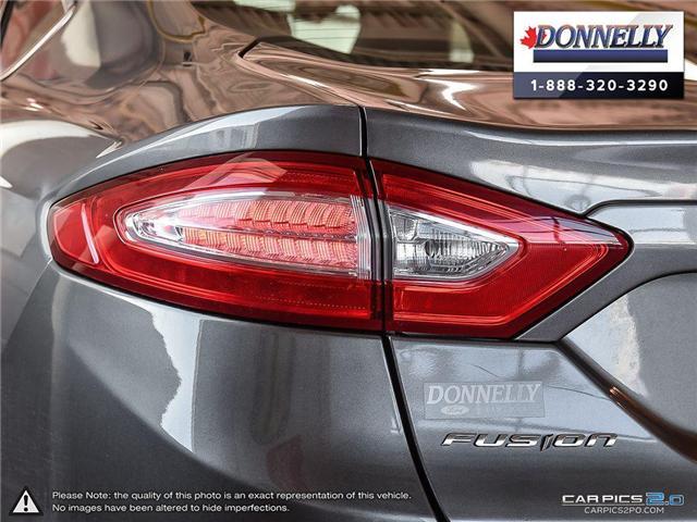 2013 Ford Fusion SE (Stk: CLDUR5950A) in Ottawa - Image 12 of 30