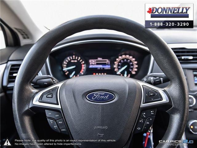2013 Ford Fusion SE (Stk: CLDUR5950A) in Ottawa - Image 14 of 30