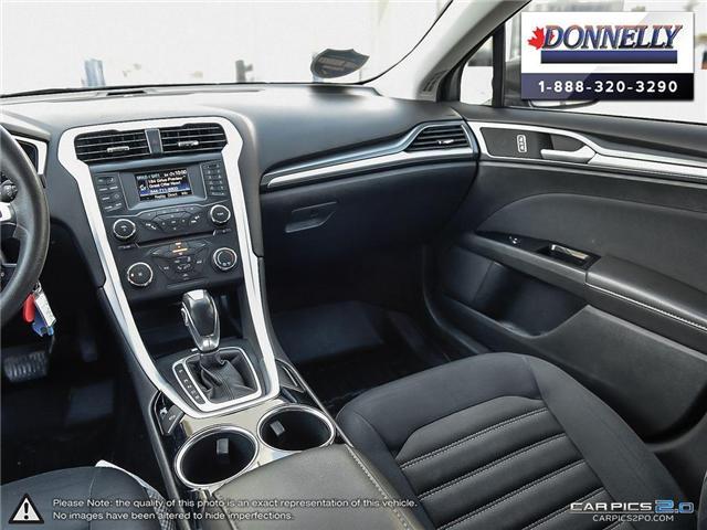 2013 Ford Fusion SE (Stk: CLDUR5950A) in Ottawa - Image 26 of 30