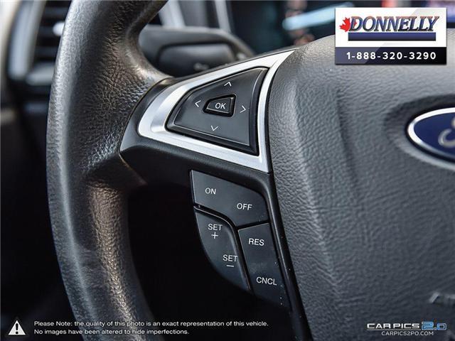 2013 Ford Fusion SE (Stk: CLDUR5950A) in Ottawa - Image 27 of 30