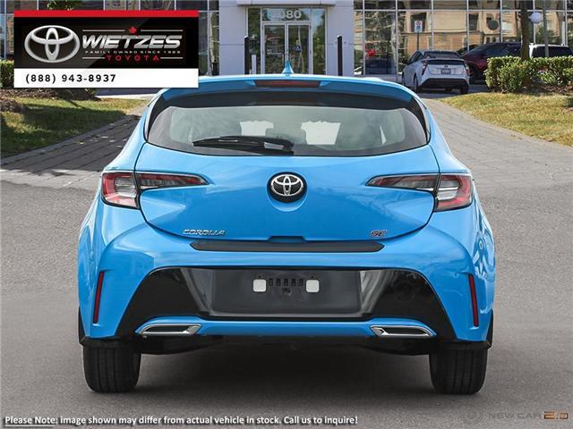 2019 Toyota Corolla Hatchback SE Package (Stk: 67895) in Vaughan - Image 5 of 24