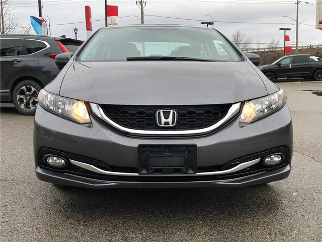2015 Honda Civic Touring (Stk: 190204P) in Richmond Hill - Image 2 of 21