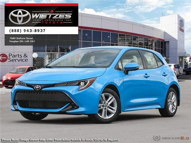2019 Toyota Corolla Hatchback SE Package (Stk: 68147) in Vaughan - Image 1 of 24