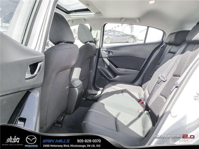 2018 Mazda Mazda3 GS (Stk: 24283) in Mississauga - Image 17 of 19