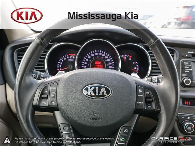 2013 Kia Optima EX Turbo (Stk: 90511PT) in Mississauga - Image 14 of 27