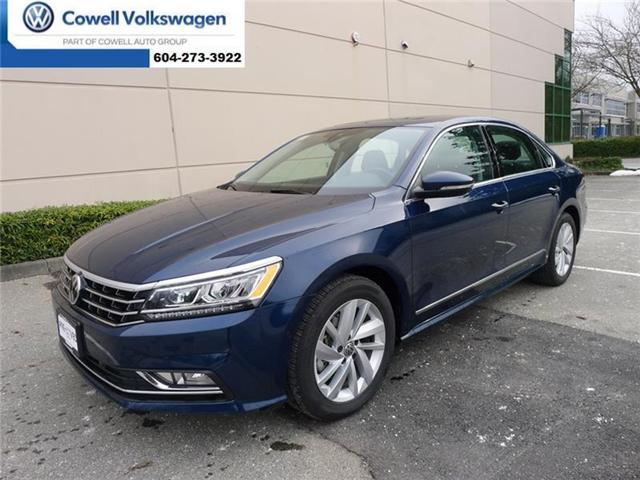2018 Volkswagen Passat 2.0 TSI Comfortline (Stk: VWQF9400) in Richmond - Image 1 of 20