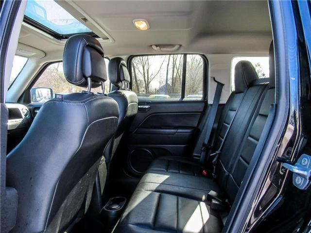 2016 Jeep Patriot Sport/North (Stk: 19304A) in Milton - Image 12 of 26