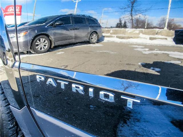 2016 Jeep Patriot Sport/North (Stk: 19304A) in Milton - Image 19 of 26