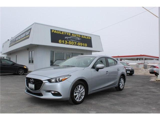 2018 Mazda Mazda3 I TOURING AT 4-DOOR (Stk: 2482) in Kingston - Image 1 of 11