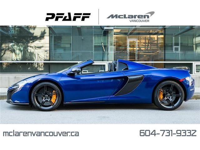 2015 McLaren 650S Spider (Stk: MV0147A) in Vancouver - Image 1 of 22