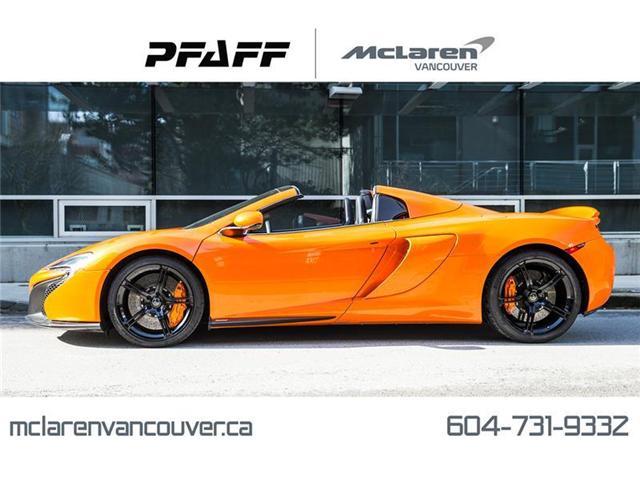 2015 McLaren 650S Spider (Stk: VU0292) in Vancouver - Image 1 of 18